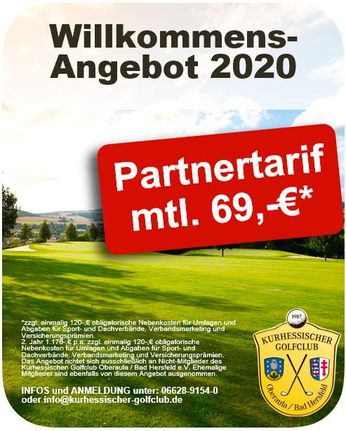 KHGC Partnertarif 2020