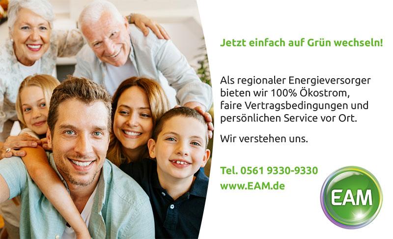 EAM Jetzt einfach auf Grün wechseln!
